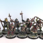 O4 - Pig-faced Orc Warband, painted by Kep Pump