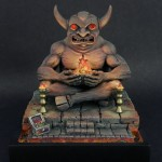 DD1 - Demon Idol, painted by Angela Imrie