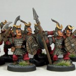 HG1-3 - Hobgoblin Warriors, painted by Andrew Taylor