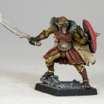 DM5d Gnoll Chieftain, painted by Andrew Taylor