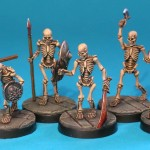UD1 - Skeletons, painted by Tim Cook
