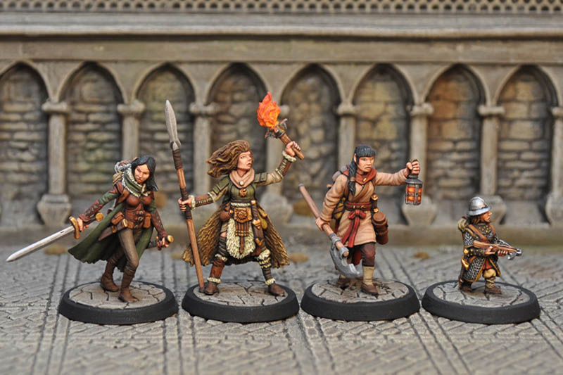 dab3 � female characters 12 otherworld miniatures
