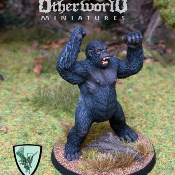 Jgdt4b Carnivorous Ape Ii Otherworld Miniatures