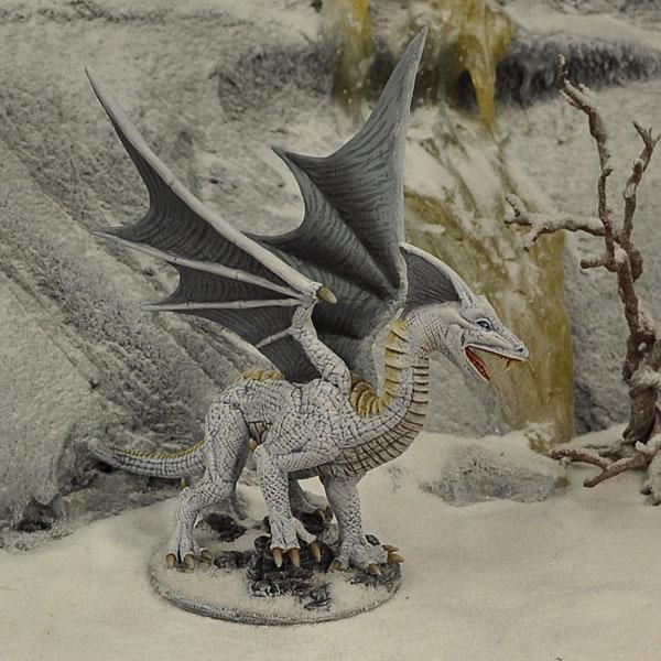 dgn1 white dragon otherworld miniatures